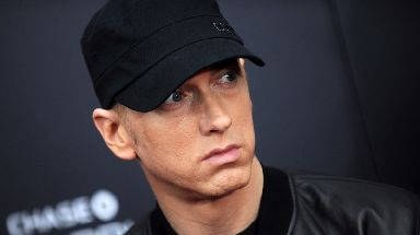 Eminem has won more than £300,000 in damages.