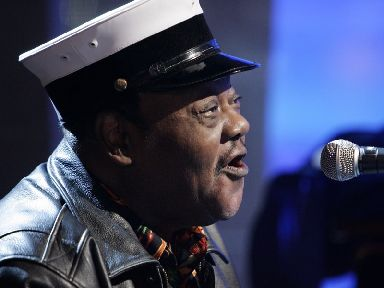 Fats Domino performing in New York in 2007