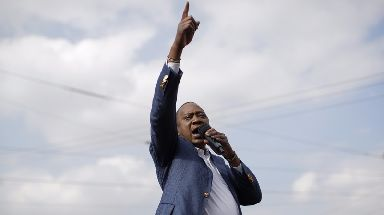 President Uhuru Kenyatta August re-election was nullified by the Supreme Court