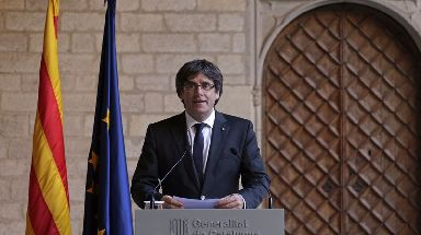 Catalan President Carles Puigdemont refused Madrid's call for a new regional vote.