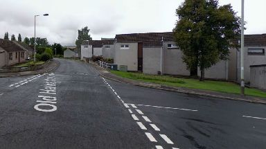 Old Halkerton Road: The attack took place in Forfar in August.