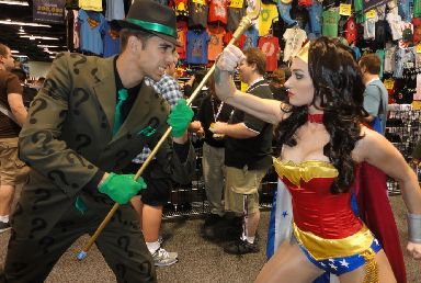 Wonder Woman is expected to be the most popular costume.