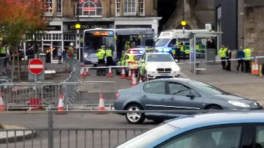 Stirling: Woman knocked down on Murray Place.