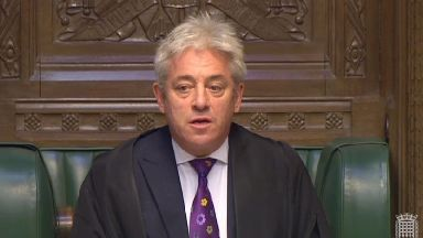 John Bercow said political parties must 'live up to their responsibilities'.