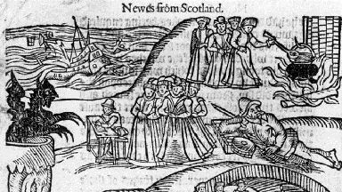 Berwick: The witch trials were so infamous, the King had a pamphlet released.