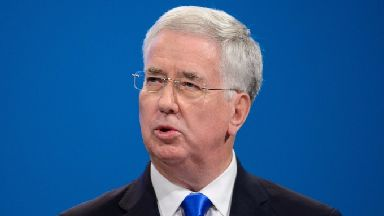 Sir Michael Fallon: The incident happened at a dinner in 2002.