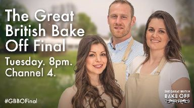 The finalists of Channel 4's Great British Bake Off.