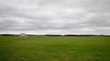 The jump took place at Netheravon Airfield.
