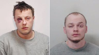 Ryan Gibbons (left) and Raymond Davies, 21, who was convicted of manslaughter.