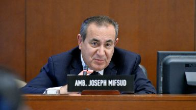 Joseph Mifsud: Professor quit post at Stirling in November.