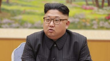 North Korea's leader Kim Jong-un.