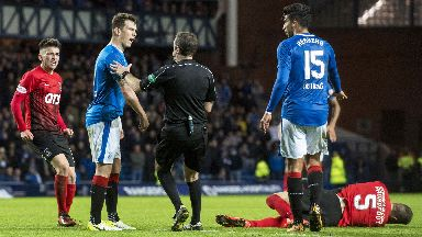 Overturned: Jack's red card has been rescinded.