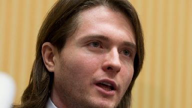 Raffaele Sollecito was also jailed and acquitted over the murder of Meredith Kercher.