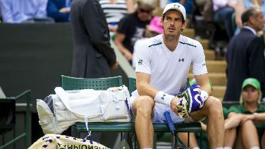 Andy Murray: The Scot has not played since exiting Wimbledon in July.