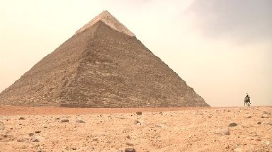 How the pyramids were built has long been a bone of academic contention.