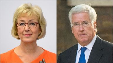 Andrea Leadsom and Michael Fallon.
