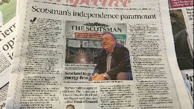 Scotsman: The newspaper's editor said Alex Salmond may be 'ignorant'.