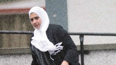 Sadia Ahmed has claimed she is being falsely framed for murder.