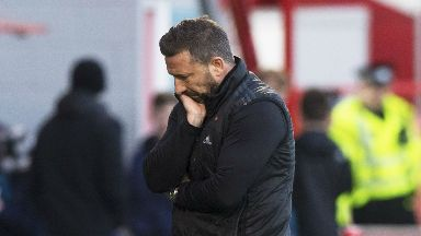 Derek McInnes was left frustrated by David Templeton's equaliser.