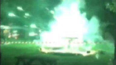 Fireworks display injures 14