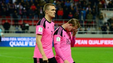 Darren Fletcher and Leigh Griffiths will not feature on Thursday.