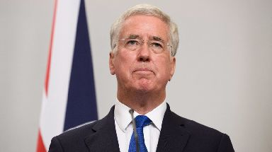 Resigned: Sir Michael Fallon stepped down as defence secretary amid allegations of wrongdoing.