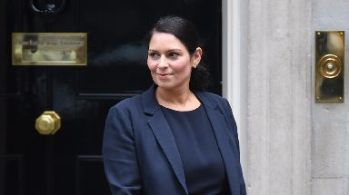 International Development Secretary Priti Patel.