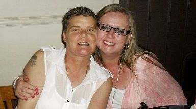The family of Clare Haslam and Deborah Clifton said they were 'made for each other'.