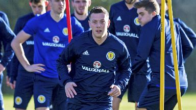 Ready: McGregor wants his Scotland chance.
