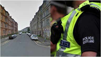 Middleton Street: He was taken to hospital.