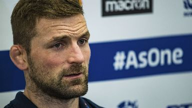 Fears: John Barclay experienced weeks of symptoms from concussion.