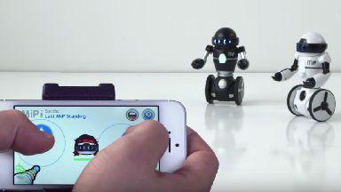 Battle: Kids will love recreating Robot Wars.