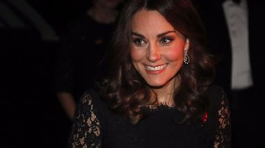 The Duchess of Cambridge attended the gala in London on Tuesday night.