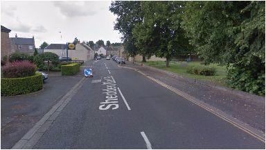 Shedden Park Road: The bogus caller struck on October 30.