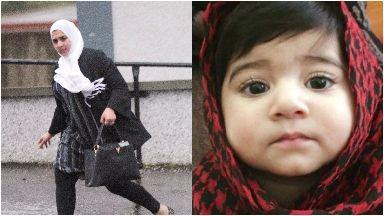 Trial: Sadia Ahmed and daughter Inaya.