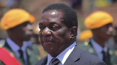Mr Mnangagwa has fled the country but has vowed to return