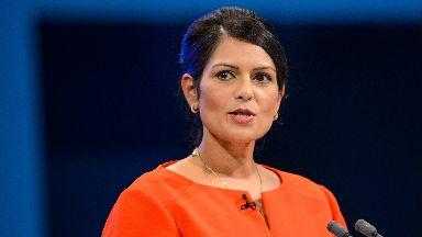 Resignation: Priti Patel has left the cabinet.