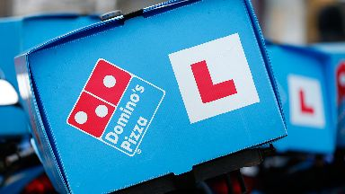 Domino's Pizza: A 16-year-old and two 15-year-old boys charged.