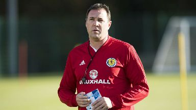 Malky Mackay: 'He's got a big job on his hands.'