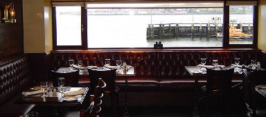 View: The Ship Inn sits beside the River Tay.