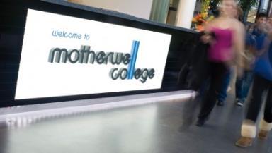 Motherwell College graduation