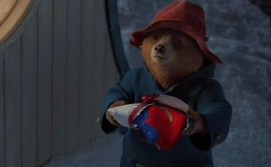 Christmas: Paddington Bear has a starring role this year.