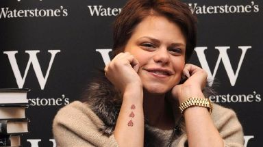 Jade Goody died of cervical cancer aged just 27 in 2009.