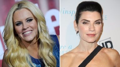 Jenny McCarthy, left, and Julianna Margulies have both accused Steven Seagal.