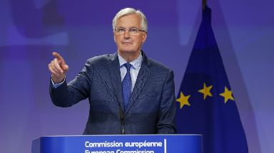 EU: Michel Barnier said he had three main priorities.