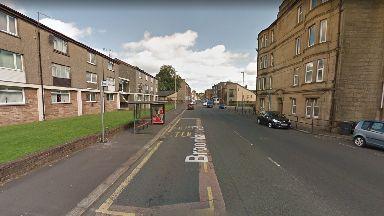 Broomland Street: Boy was struck by Grey Saab Estate.