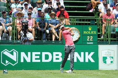 Golf: Scott Jamieson tees off on his way to a third round 67.