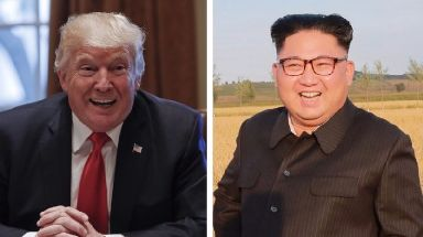 Donald Trump and Kim Jong-un have exchanged frequent barbs on Twitter.