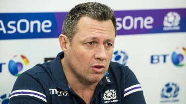 Concerns: Taylor said the defence wasn't good enough.