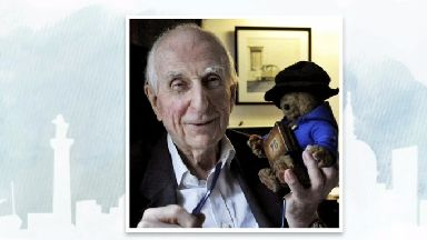 Paddington Bear creator Michael Bond honoured at service.